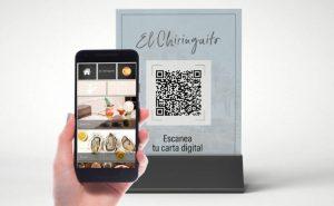 Códigos QR para acceder a servicios digitalizados